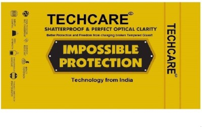 TECHCARE Impossible Screen Guard for Flexible Nano Film Impossible Screen Protector Screen Guard For Asus Zenfone Max Pro M2(Pack of 1)