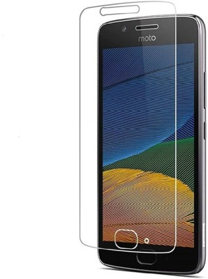 BlackBug Tempered Glass Guard for BlackBug™ Tempered Glass Screen Protector for Moto G5 Plus Mobile
