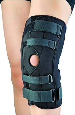 Dyna Innolife Hinged Knee Brace Open Patella (XL) Knee Support(Black)
