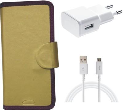 BKDT Marketing Case Accessory Combo for Micromax Canvas Yu Yuphoria 5010(Multicolor)