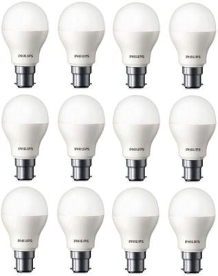 Philips 9 W Standard B22 LED Bulb(White, Pack of 12) at flipkart