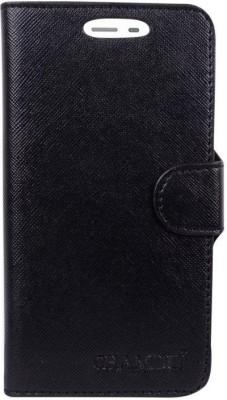 CHAMBU Flip Cover for XOLO Q700s plus(Black, Shock Proof, Artificial Leather)