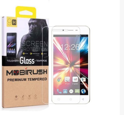 MOBIRUSH Tempered Glass Guard for Lava Z60(Pack of 1)
