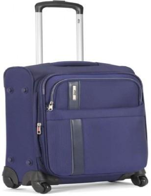 VIP MAROCCO4WSTR68BLU Expandable  Check-in Luggage - 24 inch(Blue)