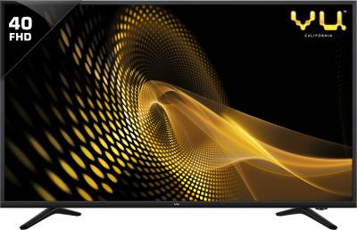 Vu 102cm (40) Full HD LED TV  (Just ₹17,499)