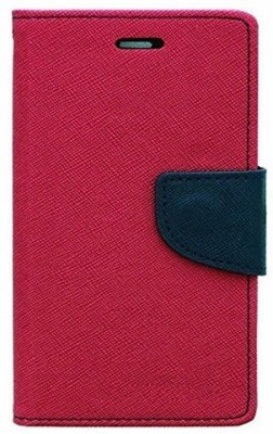 JAPNESE PRO Flip Cover for LENOVO VIBE K5 PLUS, Lenovo A6020a46(Pink, Dual Protection, Artificial Leather, Cloth, Silicon)