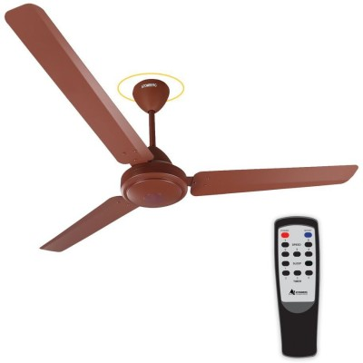 Gorilla E1-1200MB BLDC Motor with remote control 3 Blade Ceiling Fan(Matte Brown)