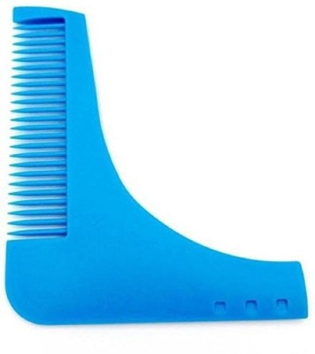 INAAYA Any Type of Beard For Unique Style Beard Comb (Blue)
