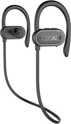 boAt Rockerz 265 Bluetooth Headset(Active Black, Wireless in the ear)