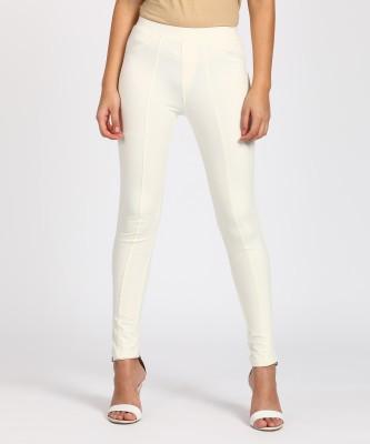 PAMO Legging(White, Solid)