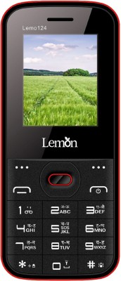 Lemon Lemo 124(Black& Red)