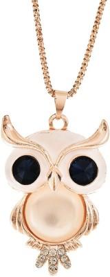 Chooz Designer Studio Multi Owl Silver Alloy Pendant