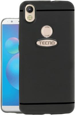 Jkobi Back Cover for Infinix Smart 2(Black, Dual Protection, Rubber)