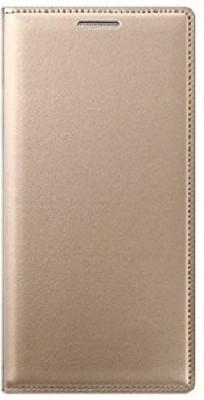 Shobicomz Flip Cover for Oppo F3 Plus Gold