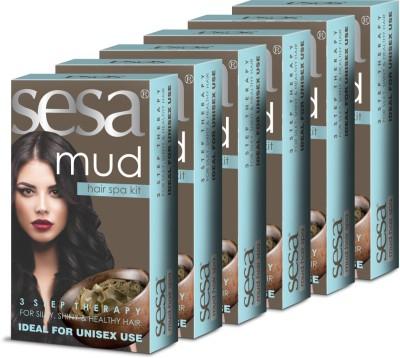 SESA Mud Hair Spa Kit (6 Box)(Set of 6)