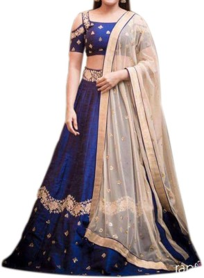 Kings Fashion Bazar Velvet Embroidered Semi-stitched Salwar Suit Dupatta Material
