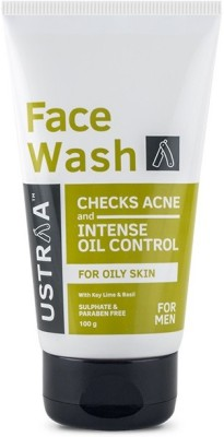 Ustraa By Happily Unmarried - Oily Skin (Checks Acne and Oil Control) Face Wash(100 ml)