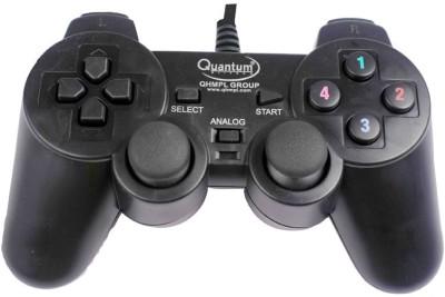 Quantum 2 Way Vibration PC USB Controller  Gamepad(Black, For PC)