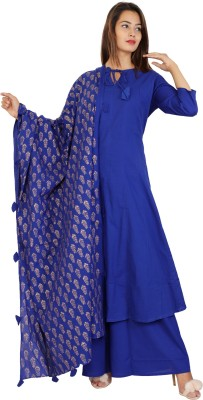 Yuvna Festive & Party Block Print Women