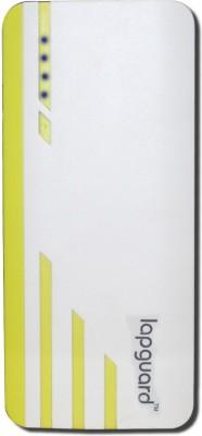 Lapguard 13000 mAh Power Bank  Sailing 1530  White, Yellow, Lithium ion