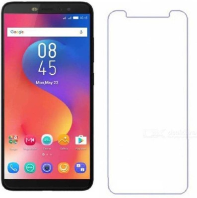 Desirtech Tempered Glass Guard for Infinix Hot S3(Pack of 1)