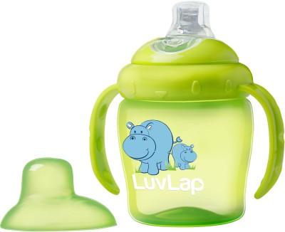 LuvLap Hippo Sipper 225ml(Green)