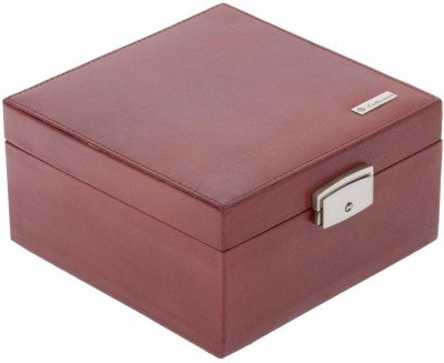 Leatherman 1310 keeping jewellary in safe and for long period of time Vanity Box(Brown)