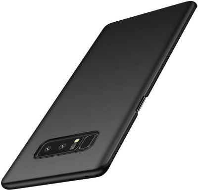 Loopee Back Cover for Samsung Galaxy Note 8(Space Black, Grip Case, Plastic)