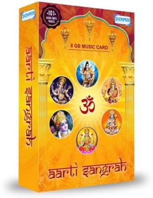 Music Card: Aarti Sangrah 320 Kbps MP3 Audio ( 8GB) Pendrive Special Edition(Hindi - Anup Jalota, Anuradha Paudwal, Usha Mangeshkar, Suresh Wadkar, Amey Date, Vaishali Samant, Pramod Medhi, Shubha Mudgal & Others)  available at flipkart for Rs.699