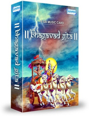 Music Card: Bhagavad Gita 320 Kbps MP3 Audio ( 8GB) ) Pendrive Special Edition(Hindi - Ananta Nitai Prabhu / Rohan Kamat)  available at flipkart for Rs.699