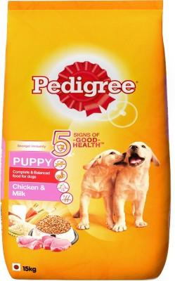Pedigree Puppy Milk, Chicken 15 kg Dog Food