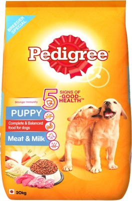 Pedigree Puppy Meat and Milk Dog Food (20 kg)
