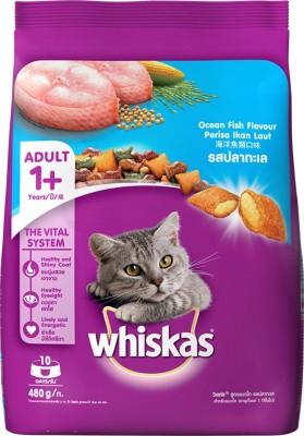 Whiskas Adult (+1 year) Fish Cat Treat(0.48 kg)