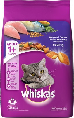 Whiskas Mackerel Fish Cat Food (1.2 kg)