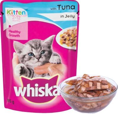 Whiskas Jelly Tuna Cat Treat(85 g)