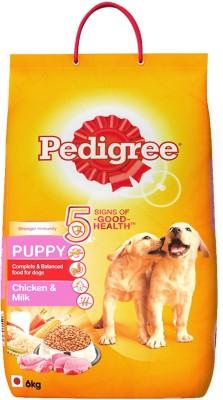 Pedigree Puppy Chicken, Milk 6 kg Dry Dog Food