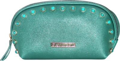 Caprese Cosmetic Pouch Medium Turquoise Pouch(Blue)