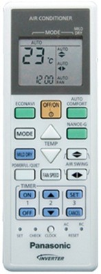 MEPL MEPL AC REMOTES COMPATIBLE WITH PANASONIC INVERTOR AC125 Remote Controller(White)