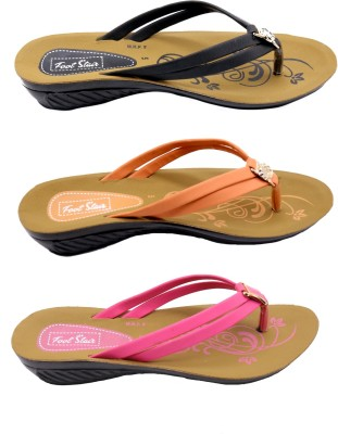 FOOTSTAIR Women multicolour Wedges