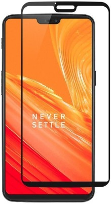 Hycot + Edge To Edge Tempered Glass for OnePlus 6(Pack of 1)