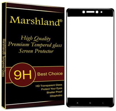 MD ORIGINAL Screen Guard for 9H Hardness, 2.5D Curved Edge, Ultra Clear Anti-Fingerprints Tempered Glass for Xiaomi Mi Max2 (Black)