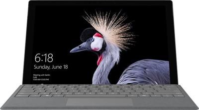 Microsoft Surface Pro Core i5 7th Gen - (8 GB/128 GB SSD/Windows 10 Pro) M1796 2 in 1 Laptop(12.3 inch, Silver, 0.77 kg)