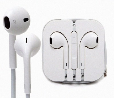 Blue Birds IPhone/Samsung Compatible Earpods With Active Noise Cancellation Technology in Ear Canal Earphones Handfree and Powerful Stereo Bass Compatible with Samsung Galaxy J6, Vivo V9, OnePlus 6, Samsung Galaxy A6 Plus, Oppo F7, Vivo Y83, Nokia 6.1, Vivo Y71, Nokia 7 Plus, Vivo X21, Oneplus, Moto