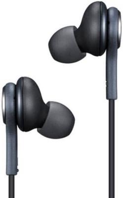 Reyanshmob AKG Wired Headset with Mic(Black, In the Ear)