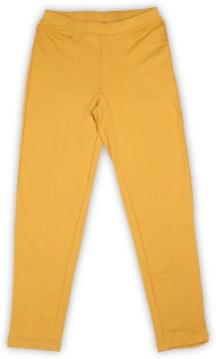 People Legging(Yellow, Solid)