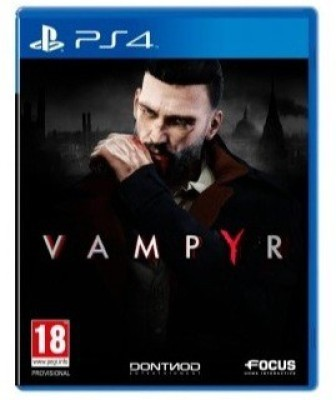 Vampyr(Action role-playing game, for PlayStation 4) at flipkart