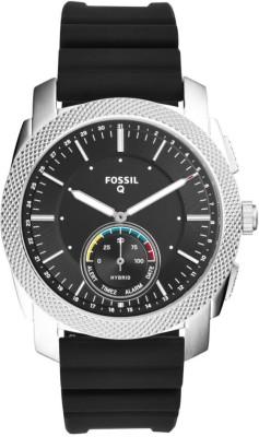 Fossil Q MACHINE Smartwatch(Black Strap, Free Size)