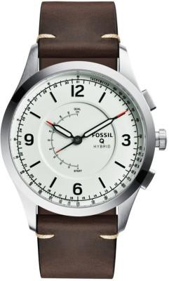 Fossil Q ACTIVIST Smartwatch(Brown Strap, Free Size)