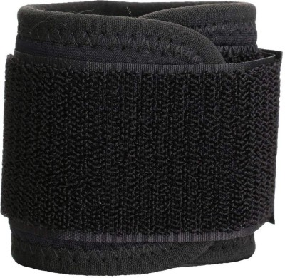 QUINERGYS ® Wrist Support Strap - Premium Adjustable Wrap for the Gym, Fitness, Lifting and much more - For Men & Women Wrist Support (Free Size, Spider Black)