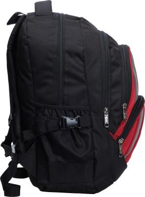 F Gear Adios 31 L Standard Backpack(Black, Red)